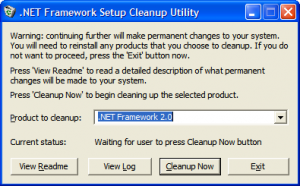 netcleanup